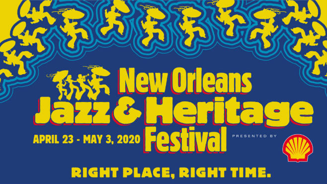 2020 Jazz Fest Lineup Announced. Photo courtesy of  Jazz Fest