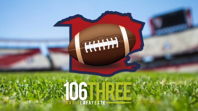 The Vermilion Parish Game of the Week returns to the airwaves on 106.3 Radio Lafayette. Kaplan, Abbeville, Erath, North Vermilion, Vermilion Catholic and Gueydan will all be featured throughout the football season. -- Photo illustration by Clint Domingue